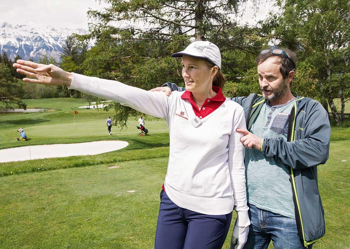 Blind golfen?!