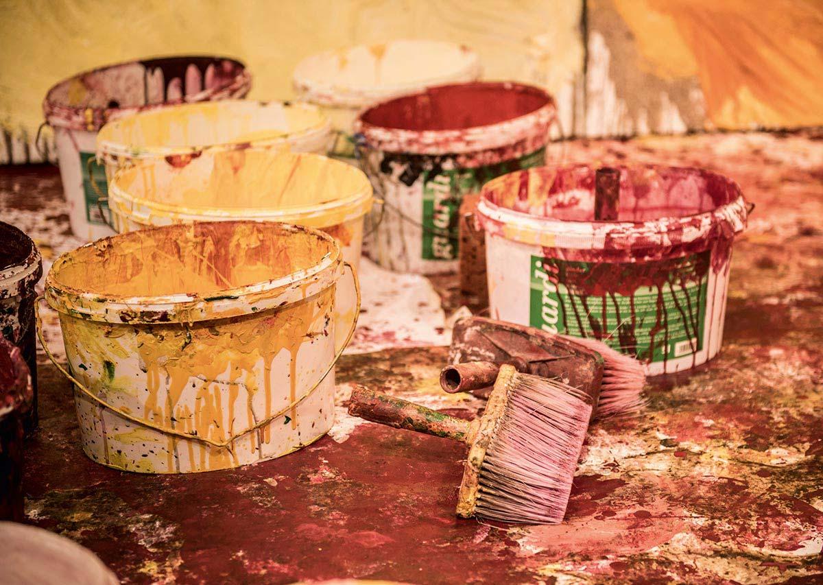 Hermann Nitsch – Farbgewaltig