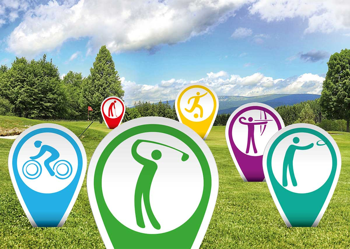 Vom Golfclub zum Freizeitpark